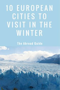 These are the best cities to visit in Europe in the winter. Know the best places to go in Europe during the winter months that are beautiful and where the cold weather won't slow down your Europe trip. European cities to visit during the winter Voyage Europe, Europe Travel Guide, Backpacking Europe, Travel Guides, Winter Destinations, Travel Destinations, Winter Vacations, Glamping, Budapest