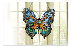 BUTTERFLY GLASS PANEL