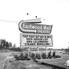 Eastwood Mall Theater Sign loved to shop there
