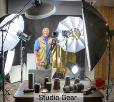 Some of the equipment from the Tower Studio.