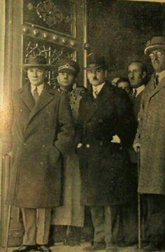 24 Kasım 1929 Atamizin Türk ocağı ziyareti