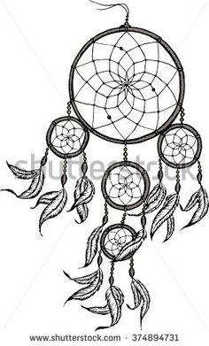 Mandala Dream Catcher Drawings Google Search Tattoo