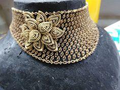 Dimond Necklace, Diamond Necklace Set, Diamond Choker, Diamond Jewellery, Gold Necklace, Choker Necklaces, High Jewelry, Gold Jewelry, Chanel Pearls