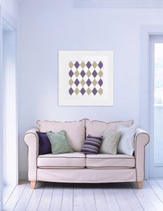 00155-Argyle Purple