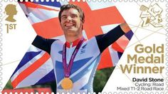 Large image of the ParalympicsGB Gold Medal Winner Miniature Sheet - David Stone Royal Mail Stamps, David Stone, Gold Medal Winners, Olympic Gold Medals, Team Gb, Penny Black, Road Racing, Stamp Collecting, Olympic Games