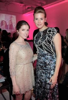 Anna Kendrick and Maggie Grace