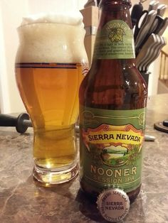 An IPA a Day Keeps the Doctor Away Beer #204 Nooner Session IPA (Sierra Nevada) Despite the fact that the name of this beer makes me giggle ...