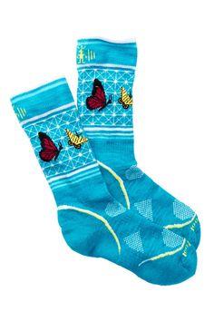 Charley Harper Butterfly Crew Socks