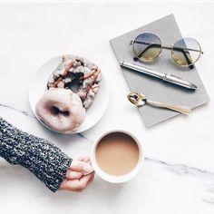 Coffee & donuts = love