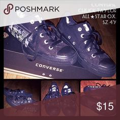 Converse Chuck Taylor ALL STAR Ox Sneakers - 4Y Pre-owned, Converse Chuck Taylor ALL STAR Ox, Sz 4Y (or like a women's 6) .. these have been worn quite a bit but they still have lots of life left in them. Converse Shoes Sneakers
