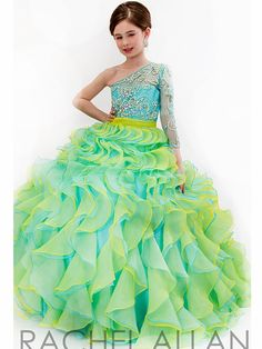 Girls Pageant Dress Perfect Angel 1572: PageantDesigns.com