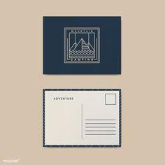 Postcard Layout, Postcard Mockup, Postcard Template, Postcard Design, Layout Design, Calling Card Design, Business Postcards, Design Tape, Notebooks