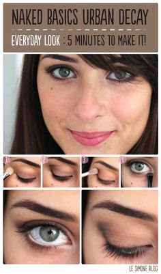 Naked Basics Day Look1 Naked Basics Urban Decay : Back to Basics!