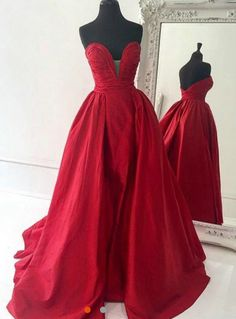Red dresses!