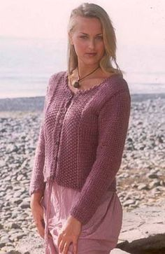 Ravelry: 77-15 Cardigan in Eskimo pattern by DROPS design