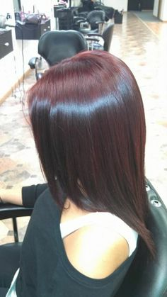Red Violet Hair Color