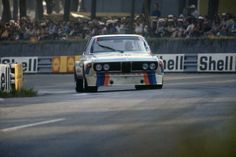 The BMW 3.0 CSL driven by Hans-Joachim Stuck and Chris Amon at Le Mans 1973