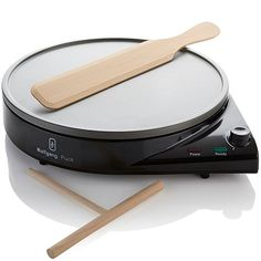 Make Paris-perfect crepes every time with this Wolfgang Puck crepe maker from HSN's The Hundred Foot Journey Collection.