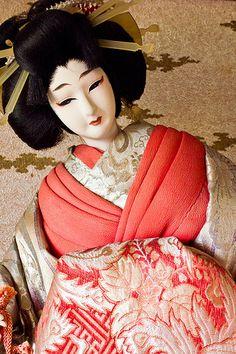Oiran doll 花魁 (おいらん)