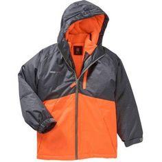 Swiss Tech Boys' 3 in 1 System Jacket, Size: 14/16, Orange