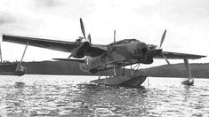 """March First flight of the Blackburn British experimental aircraft. In flight, the main float retracted towards the fuselage, fitting into a """"notch"""" to become streamlined as a part of the fuselage. The wing floats folded outward to become the wing tips. Amphibious Aircraft, Aircraft Engine, Ww2 Aircraft, Aircraft Images, Air Fighter, Fighter Jets, Float Plane, Airplane Photography, Experimental Aircraft"""