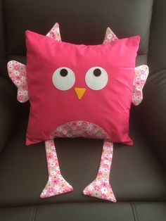 A personal favourite from my Etsy shop https://www.etsy.com/uk/listing/599985102/pink-owl-cushion-cover