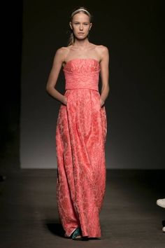 The Tracy Reese Spring 2015 collection is modeled Sunday during Fashion Week in New York.