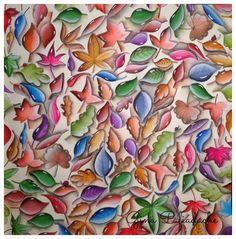 Atelier Gina Pafiadache: Jardim Secreto - Secret Garden - Pedrinhas de vidr...