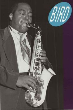 "A great portrait poster of ""Bird"" - Jazz saxophone legend Charlie Parker! Published in 1992. Fully licensed. Ships fast. 24x36 inches. Need Poster Mounts..? bm5807"