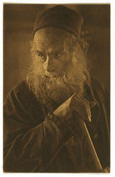 "Picture postcard, ""A Spanish Jew of Jerusalem"" 1921"