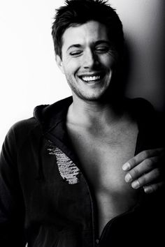 Jenson Ackles.  Oh dear...He's adorable (Dean from Supernatural)