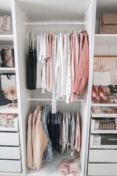 Walk in shoe closet ikea pax 23 Ideas Closet Ikea, Ikea Closet Organizer, Ikea Pax Wardrobe, Closet Drawers, Small Wardrobe, Small Closets, Wardrobe Closet, Closet Bedroom, Walk In Closet