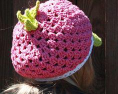 Strawberry shortcake hat!