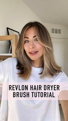 Revlon Hair Dryer Brush, Haircut And Color, Hair Tools, Hair Inspo, Straight Hairstyles, Hair Care, Hair Beauty, Long Hair Styles, Tips