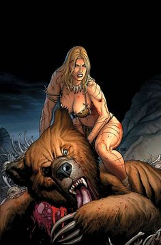 Jungle Girl screenshots, images and pictures - Comic Vine