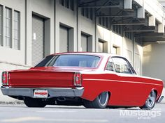 1966 Ford Fairlane Custom Right Rear View