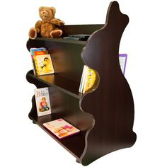 """Rabbit Mobile Double Sided 41.5"""" Bookcase"""