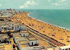 Rota Spain beach postcard circa 1966. Rota Spain, Water Signs, Cadiz, Submarines, Canary Islands, Andalucia, Spain Travel, Travel Photos, Paris Skyline