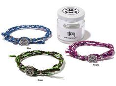 Stussy x JAM HOME MADE Rope Bracelet