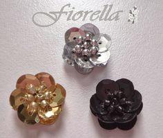 ¡Nuevo! video tutorial #3 Flores en lentejuela y mostacilla