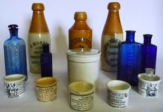 Tennants Auctioneers: A Large Collection of Victorian Bottles and Pots