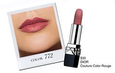 Dior Couture Color Rouge - Stay on Trend with These 5 Fall Lipsticks - Simply Sona Makeup Tips, Beauty Makeup, Hair Beauty, Beauty Trends, Beauty Hacks, Beauty Tips, Simply Sona, Fall Lipstick, High End Makeup