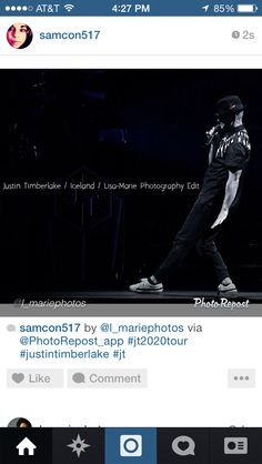 Justin Timberlake. 20/20 Experience World Tour. Iceland.