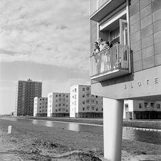 Complex Sloterhof, 1960 (foto: Cas Oorthuys / Nederlands Fotomuseum)