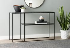 Sharen Konsolentisch - Muebles y Mobiliario Furniture, Interior, Console Table Living Room, Home Decor, Dining Room Decor, Modern Console Tables, Dining Room Console Table, Dining Room Console, Iron Console Table