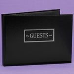 Wedding Accessories Guest Book Black