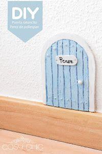 Sorprende a los peques de la casa colocando una pequeña puerta para el ratoncito Pérez en su habitación.