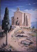 Ermita de Santa Barbara de Maella-Zaragoza-ESPAÑA