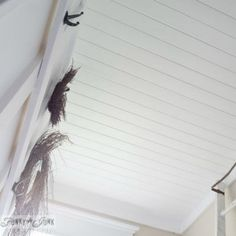 We're always looking for easy ways to rid ourselves of awful popcorn ceilings, and we've finally found some answers!