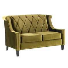 Barrister Loveseat Green now featured on Fab.